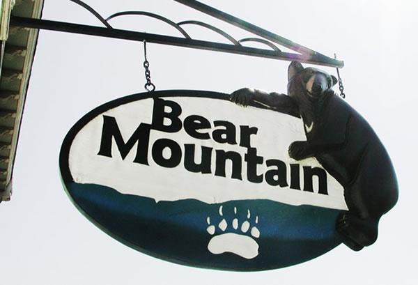 Bear Mountain Signs - Clifton Forge Va - shop sign